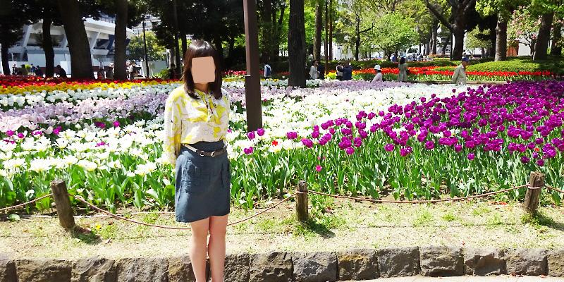 横浜公園で� ...
